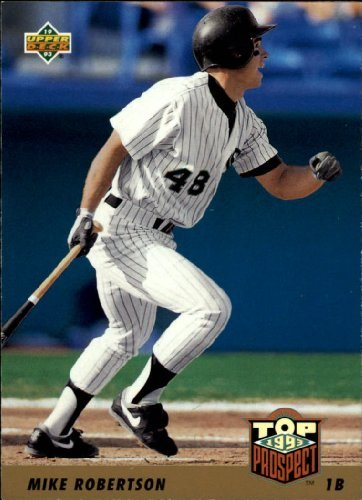 1993 Upper Deck Baseball Card 448 Mike Robertson
