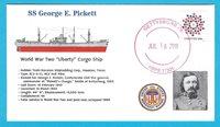 "SS George E. Pickett, WW II ""Liberty"" Cargo Ship, Gettysburg, PA, July 16 2018"