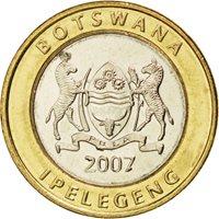 Botswana, République, 5 Pula 2007, KM 30