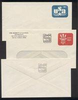 U.S. #U586a, 86b, 86c Mint Entires - 1978 15c Revalued Varieties