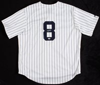 Yogi Berra Signed Yankees Jersey (PSA/DNA)