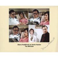 HODDINOTT Diana Yes Minister Signed Photo 785G UACC COA
