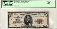 Fr.1850-J* $5 1929 Kansas City PCGS Very Fine 25