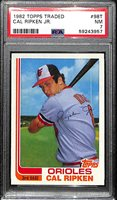 1982 Topps Traded Cal Ripken Jr. Rookie #98T Graded PSA 7