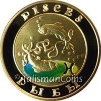 Armenia 2008 Signs of Roman Zodiac Pisces the Fish 10,000 Dram Gold Proof Color
