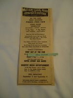Webb Pierce Loretta Lynn Williams Grove Park Speedway concert 1967 newsprint ad