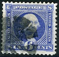 US Scott Number 115 6¢ 1869.Very Fine stamp. Price $200 USD