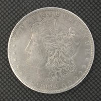 1893-O MORGAN DOLLAR $1 AU50