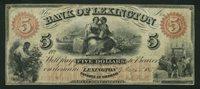 $5 North Carolina 1859 Lexington VF $90