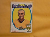 VINTAGE HOCKEY CARD OPC 1971 HARRY HOWELL HH1