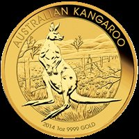 1 OZ AUSTRALIAN GOLD KANGAROO