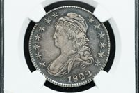 1822 Capped Bust Silver Half Dollar NGC XF45