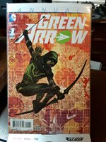 DC Modern Age Comic Books Lot of 8. Green Arrow. 2015. Issue #1 included.