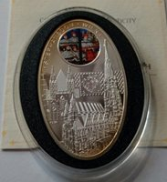 Niue 1 dollar 2010 Gothic Stephansdom in Wien Silver mint. 5000 COA №2