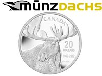 $20 Robert Bateman Moose .9999 1 oz fine silver coin Canada Proof 2012 Sold Out