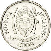 Botswana, République, 10 Thebe 2008, KM 27