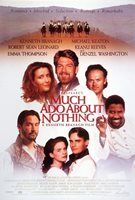 "MUCH ADO ABOUT NOTHING 27""x40"" Original Movie Poster One Sheet - Emma Thompson"