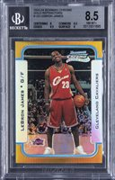 2003-04 Bowman Chrome Gold Refractors #123 LeBron James Rookie Card (#20/50) – BGS NM-MT+ 8.5