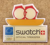 Greece Athens 2004 Olympics Swatch Pin Rowing