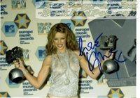 Kylie Minogue - autographed promo #987