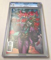 DC Comics BATMAN #23.1 3-D JOKER #1 Variant CGC Graded 9.8