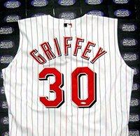 official photos 09a85 7be4f Autographed Ken Griffey Jr. Jersey - Vest Hall of Fame Upper Deck  Certification Hologram - Autographed MLB Jerseys