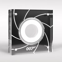 James Bond A-Z 10p Coin Perspex Capsule Display Case
