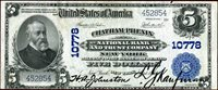 $ 5 NEW YORK NATIONAL 1902 Series