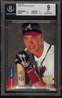 1993 Upper Deck SP Foil #280 Chipper Jones HOF Atlanta Braves BGS 9 = PSA 9