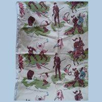 Davy Crockett Waverly Western Fabric