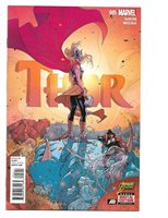Marvel Thor #5 (Apr. 2015) High Grade One Owner Unread