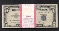 $5 1953-B SILVER ORIGINAL PACK