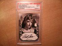 2002 Star Trek Heidi Kramer PA8 Autograph Card - PSA NM 7