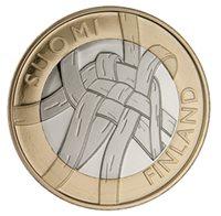 "2011 Finland €5 Issue ""Regions: Karelia"""