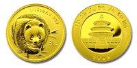 China 2003 Panda 1/10 oz Gold BU Coin