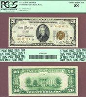 1929 $20 FR-1870-H St. Louis