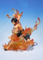 Japan Figure BANDAI Figuarts ZERO One Piece Portgas D. Ace Tracking from Japan