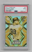 Aaron Judge 2017 Topps Fire Gold Minted #62 PSA 9