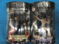 Elvis Presley - Jailhouse Rock and Aloha from Hawaii figure set - X-Toys