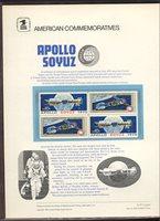 1569-70 10c Apollo Soyuz USPS Cat. # 53 Commemorative Panel[cp053]