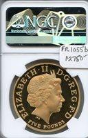 2004 Great Britain Gold 5 Pound Sov. NGC PF 69 U.C.