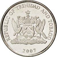 Trinité et Tobago, 25 Cents 2007, KM 32