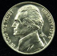 1974 Uncirculated Jefferson Nickel BU (C02)