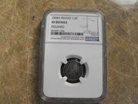France 1/2 Franc 1808A NGC XF Details