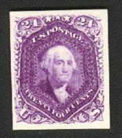 United StatesScott #70P4 (2011 Scott Value $500.00), Unused, VF. 24c Washington (#70P4).Stamp #1329 | Price: $500.00Add To Cart