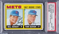 1967 Topps #581 Tom Seaver Rookie Card – PSA NM-MT 8