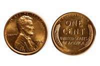 1954-D Lincoln Cent - CONECA RPM-002 Choice BU Red #220