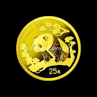 1997 1/4 oz Gold Panda Coin