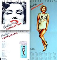 Marilyn Monroe LP Goodbye Primadonna 1981 + Calendar Poster Import Record NM/M