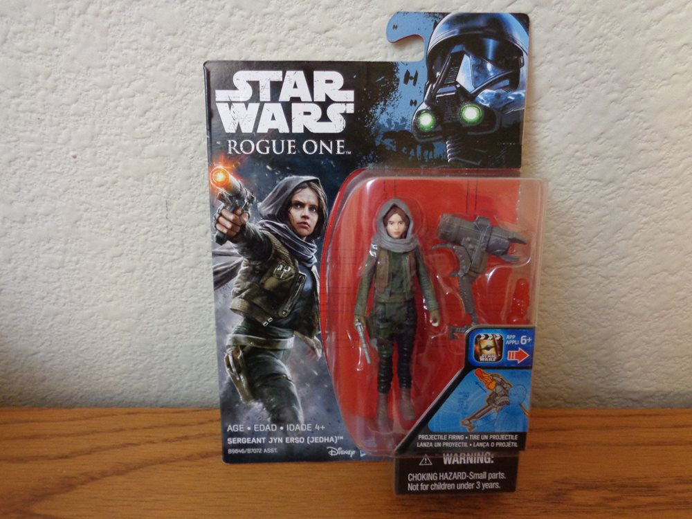 In Hand Jedha Star Wars Rogue One 3.75-Inch Figure Sergeant Jyn Erso